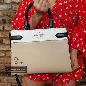 Kate Spade MEDIUM STACI Soft Leather SATCHEL BAG